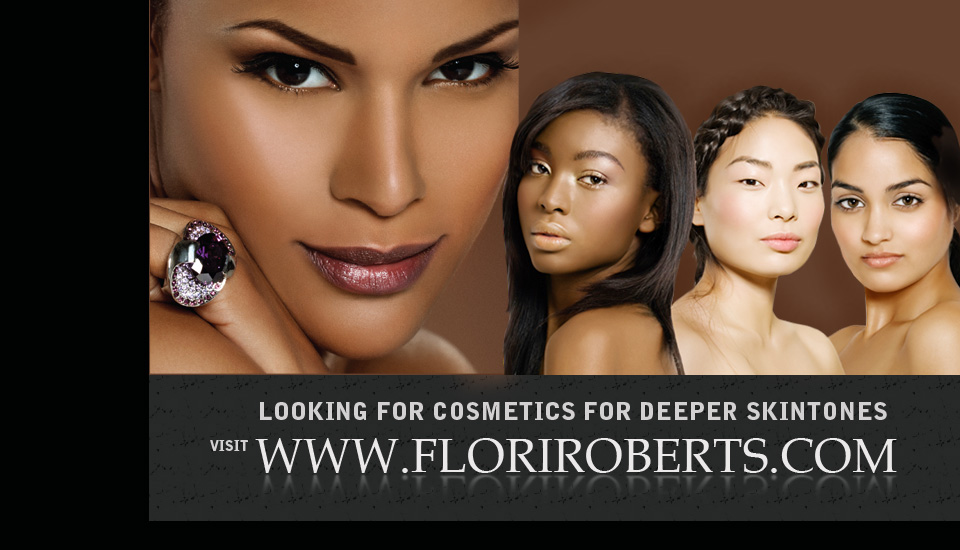 Cosmetics for deeper skin tone, cosmetics for black african american women
